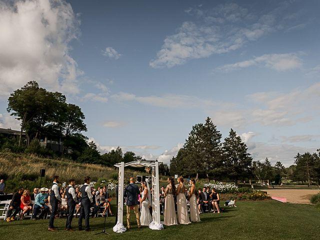 Jake and Jasmine's wedding in Huntsville, Ontario 31