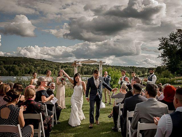 Jake and Jasmine's wedding in Huntsville, Ontario 32