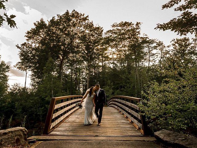 Jake and Jasmine's wedding in Huntsville, Ontario 2