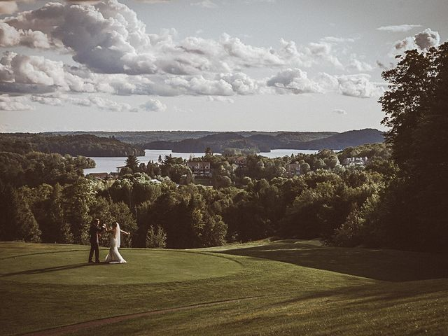 Jake and Jasmine's wedding in Huntsville, Ontario 33
