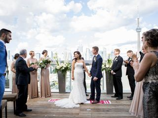 The wedding of Leana and Hilary