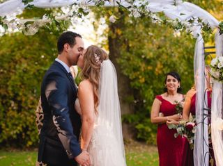 Waghlis and Emilie's wedding in Laval, Quebec 9