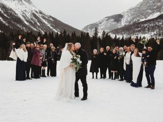 The wedding of Brad and Hilary