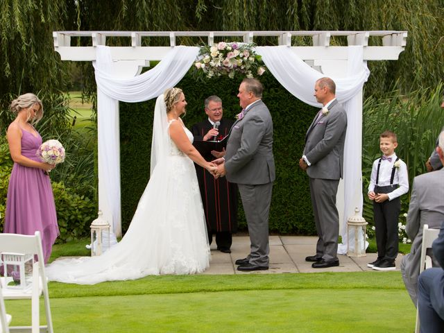 Jason and Kim's wedding in Langley, British Columbia 1