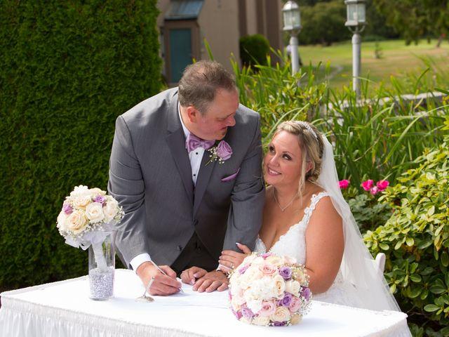 Jason and Kim's wedding in Langley, British Columbia 6