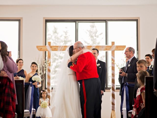 Victoria and Ryan's wedding in Edmonton, Alberta 12