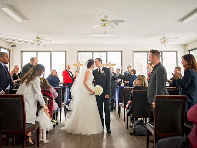 Victoria and Ryan's wedding in Edmonton, Alberta 14