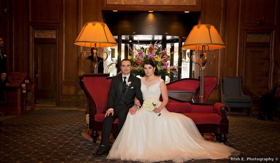 Victoria and Ryan's wedding in Edmonton, Alberta