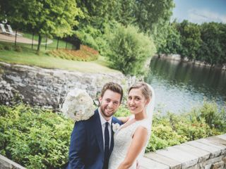 The wedding of Catherine and Jean-Philippe