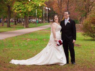 The wedding of Mandi  and Chris