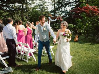 The wedding of Matt Leaker and Vanessa Ross 2