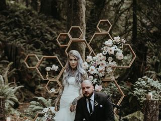 The wedding of Dannielle and Shane 2