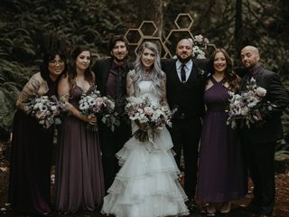 The wedding of Dannielle and Shane