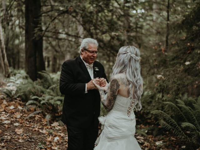 Shane and Dannielle's wedding in Sooke, British Columbia 6