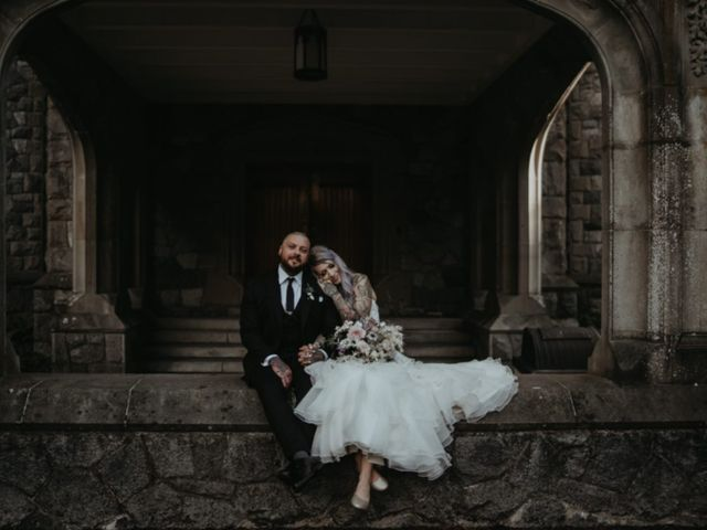 Shane and Dannielle's wedding in Sooke, British Columbia 7