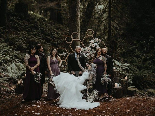 Shane and Dannielle's wedding in Sooke, British Columbia 8
