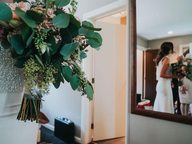 Sean and Raquel's wedding in Field, British Columbia 9