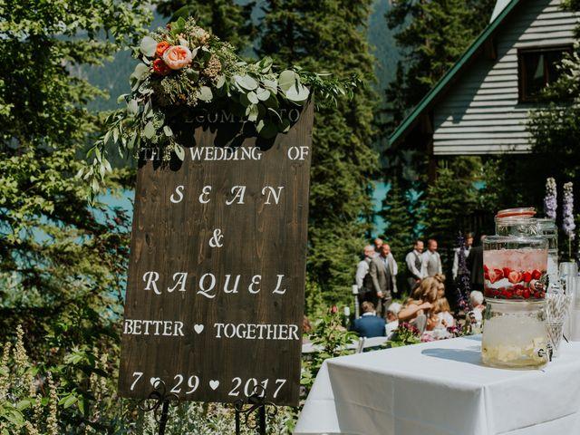 Sean and Raquel's wedding in Field, British Columbia 11
