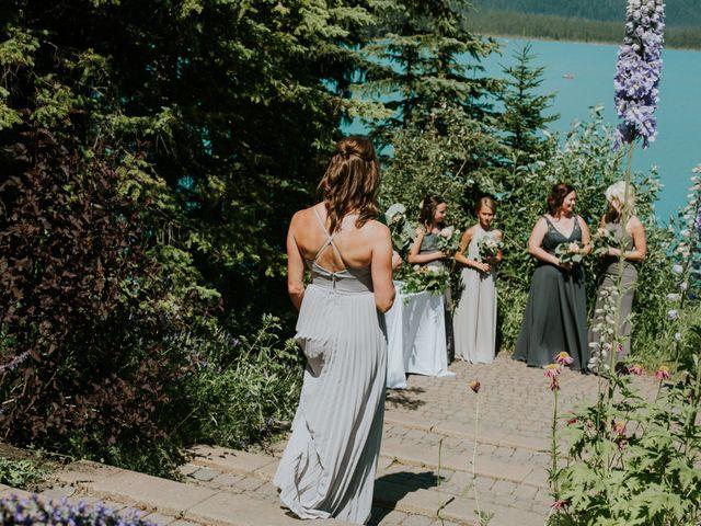 Sean and Raquel's wedding in Field, British Columbia 12
