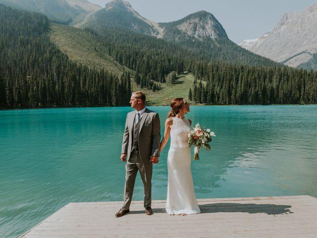Sean and Raquel's wedding in Field, British Columbia 18