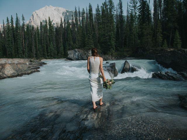 Sean and Raquel's wedding in Field, British Columbia 20