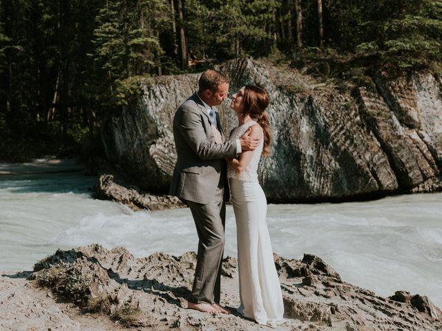 Sean and Raquel's wedding in Field, British Columbia 22