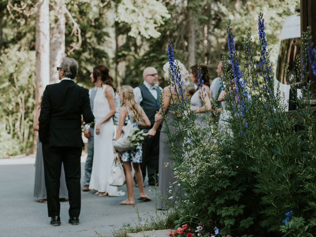 Sean and Raquel's wedding in Field, British Columbia 25