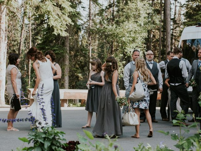 Sean and Raquel's wedding in Field, British Columbia 26