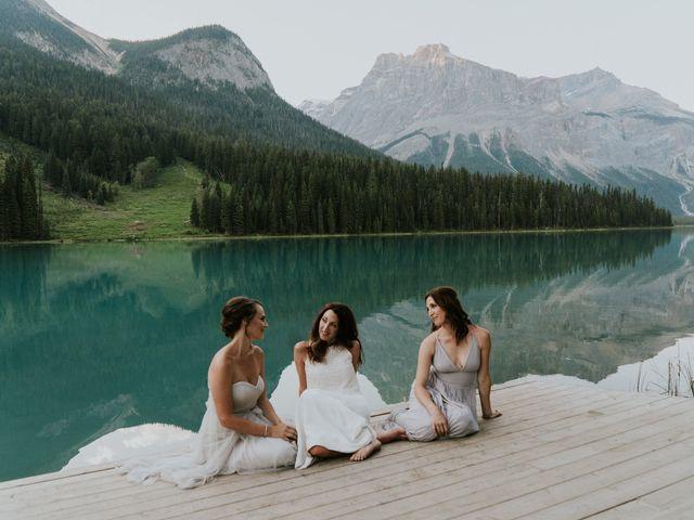 Sean and Raquel's wedding in Field, British Columbia 38