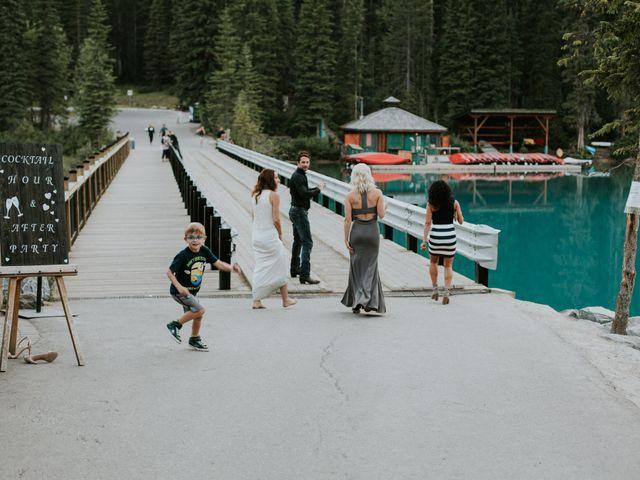 Sean and Raquel's wedding in Field, British Columbia 43
