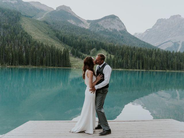 Sean and Raquel's wedding in Field, British Columbia 44