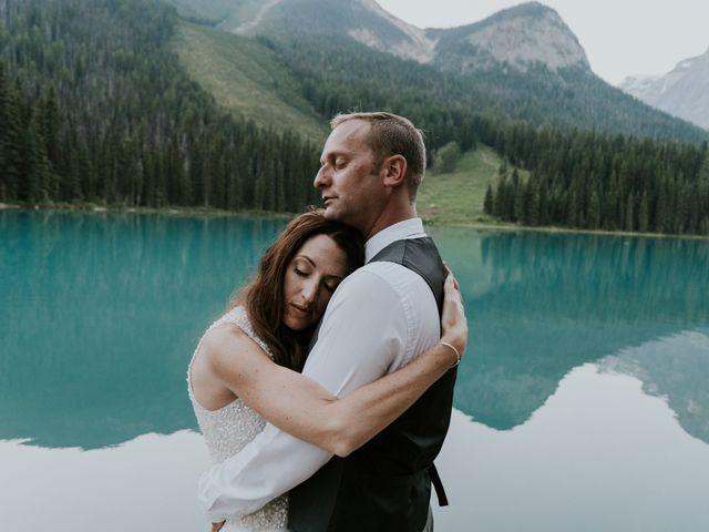 Sean and Raquel's wedding in Field, British Columbia 45