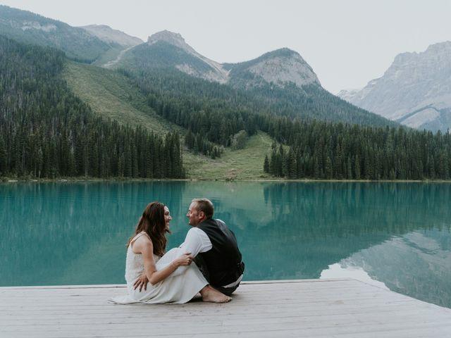 Sean and Raquel's wedding in Field, British Columbia 49