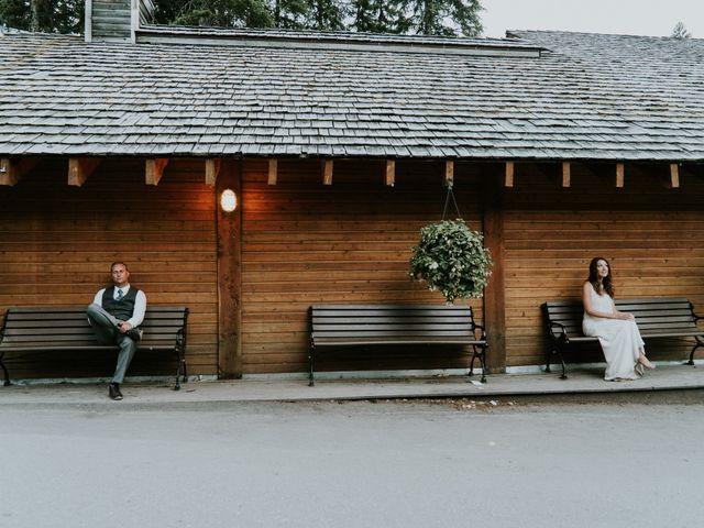 Sean and Raquel's wedding in Field, British Columbia 51