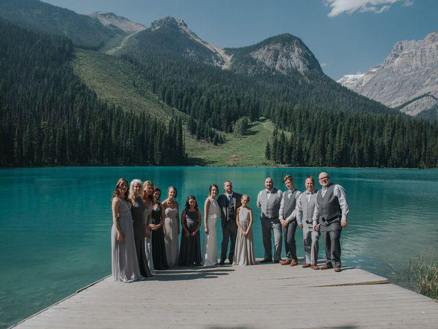 Sean and Raquel's wedding in Field, British Columbia 72