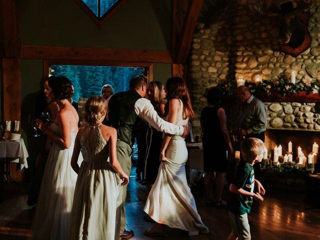 Sean and Raquel's wedding in Field, British Columbia 78