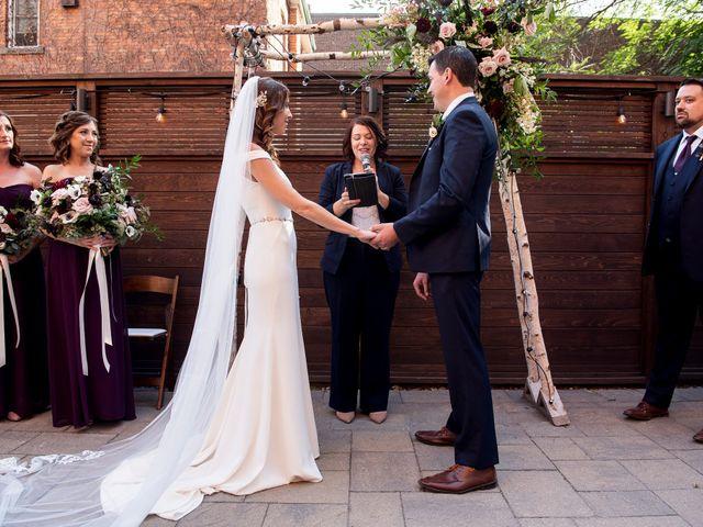 The wedding of Stefanie and Ryan