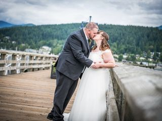 The wedding of Lindsey and Garrett