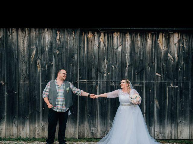 Jarod and Heather's wedding in Woodstock, New Brunswick 4