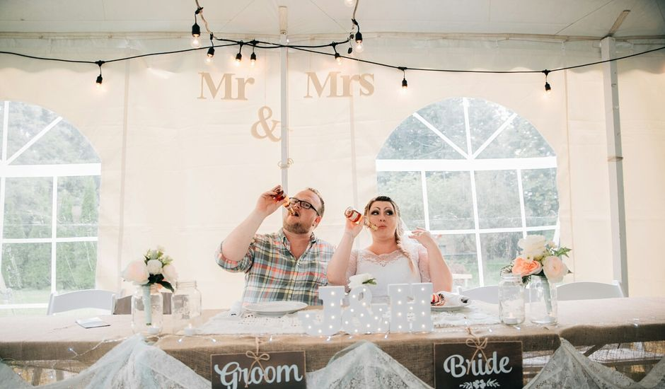 Jarod and Heather's wedding in Woodstock, New Brunswick