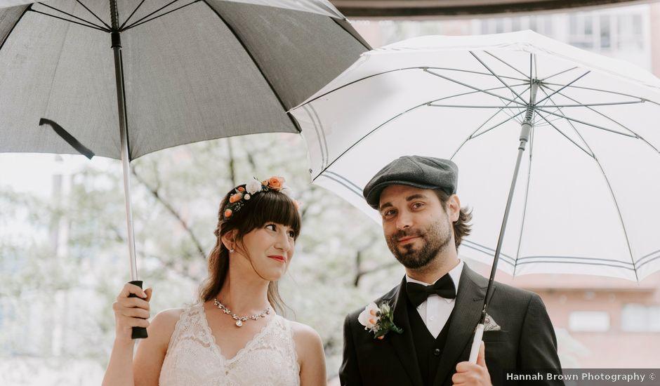 Chris and Jess's wedding in Toronto, Ontario