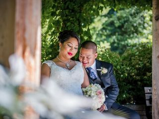 The wedding of Erica and Peter
