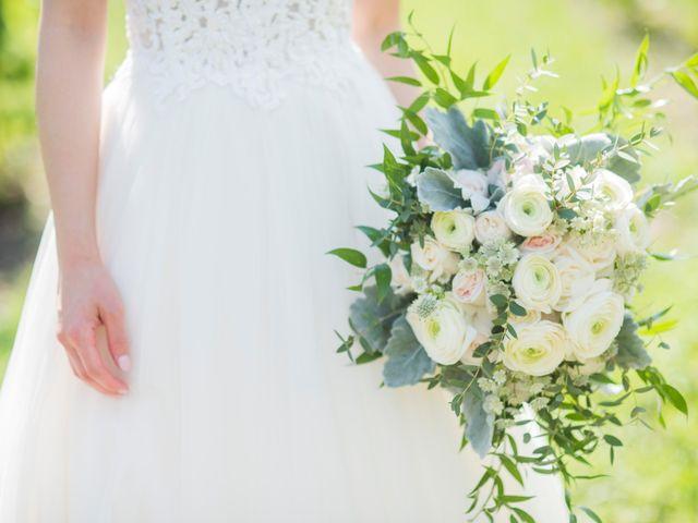 The wedding of Vanessa and Wesley