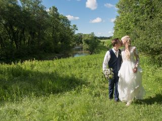 The wedding of Amber and Shane