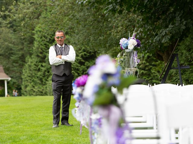 Brian and Tammy's wedding in Langley, British Columbia 4