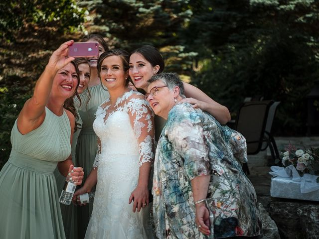 Blythe and Maia's wedding in Caledon, Ontario 22