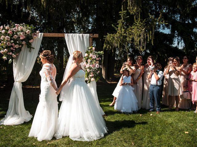 Blythe and Maia's wedding in Caledon, Ontario 25