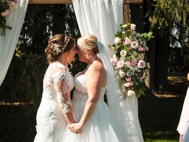 Blythe and Maia's wedding in Caledon, Ontario 28