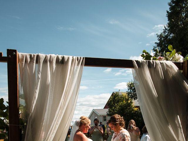 Blythe and Maia's wedding in Caledon, Ontario 30