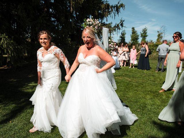 Blythe and Maia's wedding in Caledon, Ontario 32